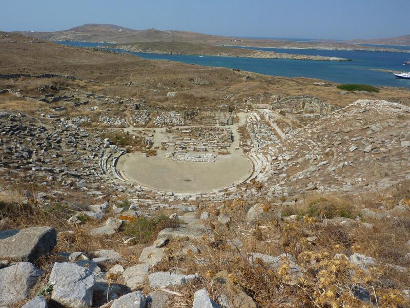 Amphithéâtre de Délos