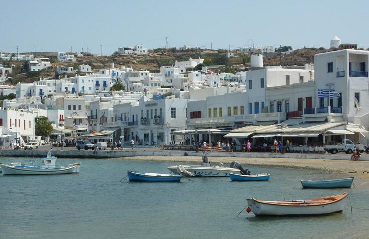 Petit port de Mykonos