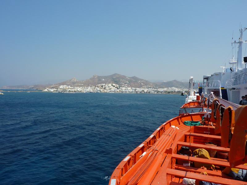 Naxos vue de la mer