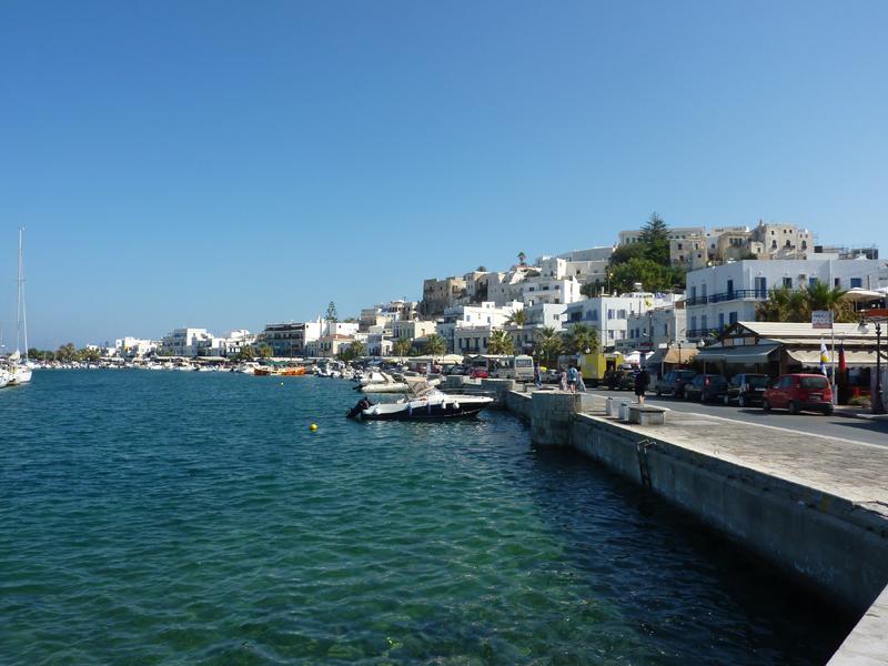 Débarcadère de Naxos