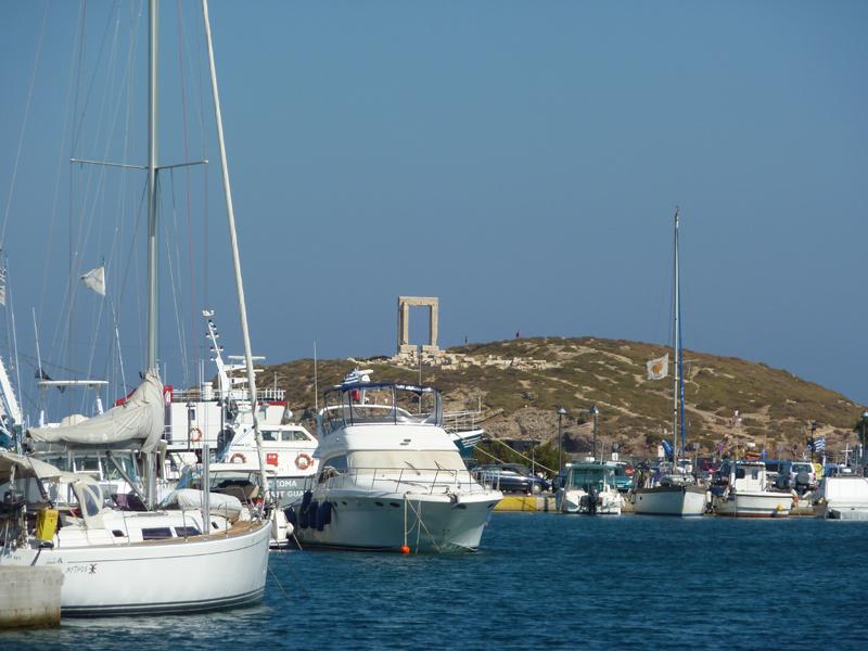 Porte d'Apollon, Naxos