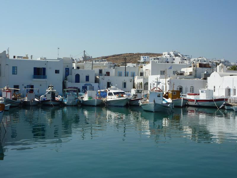 Bateaux de pêche à Paros