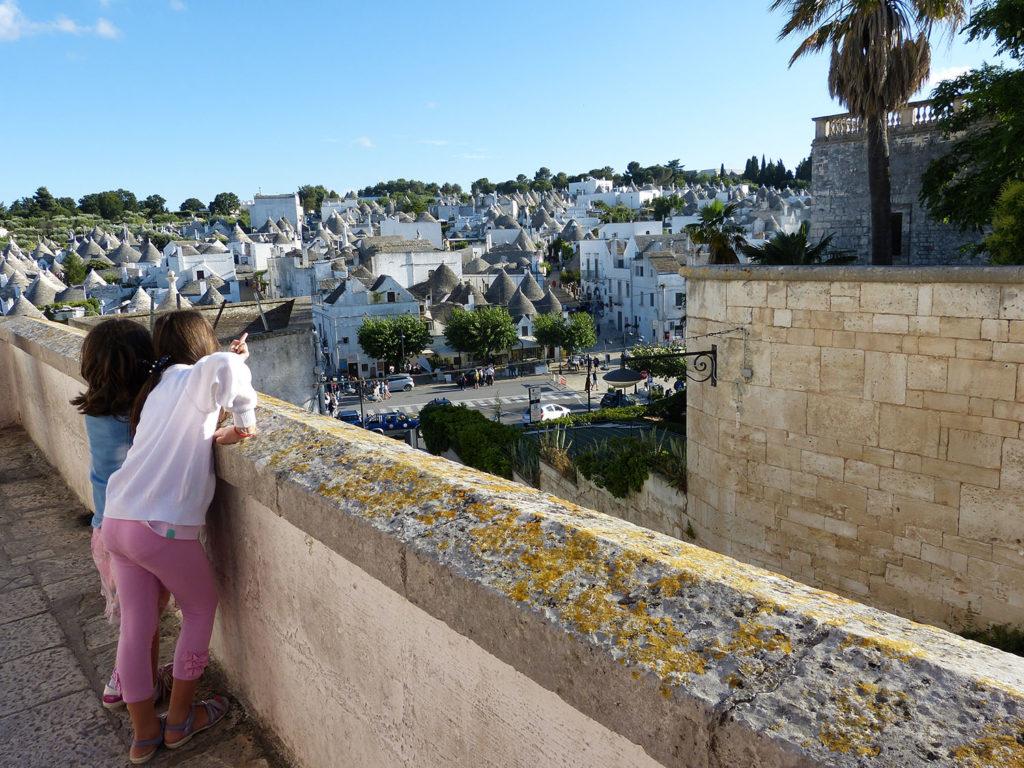 Les trulli d'Alberobello