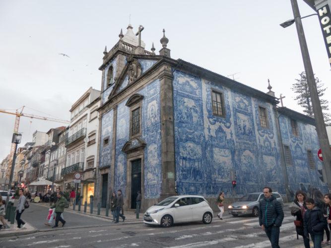 azulejos de la Capela das Almas