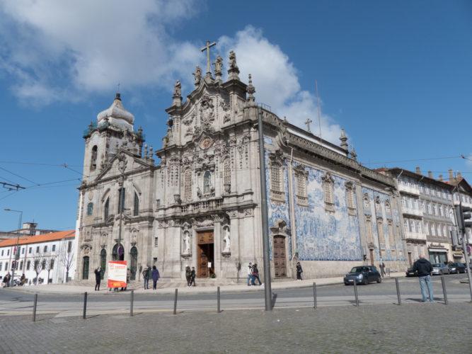 azulejos igreja do carmo