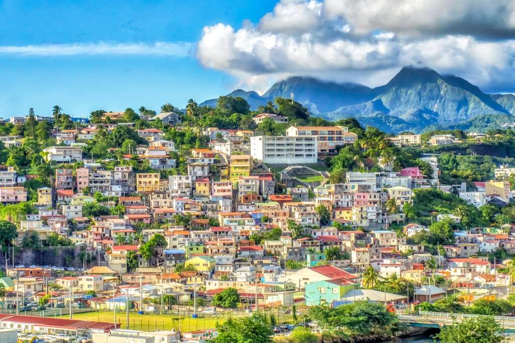 Vue sur Fort de France, Martinique