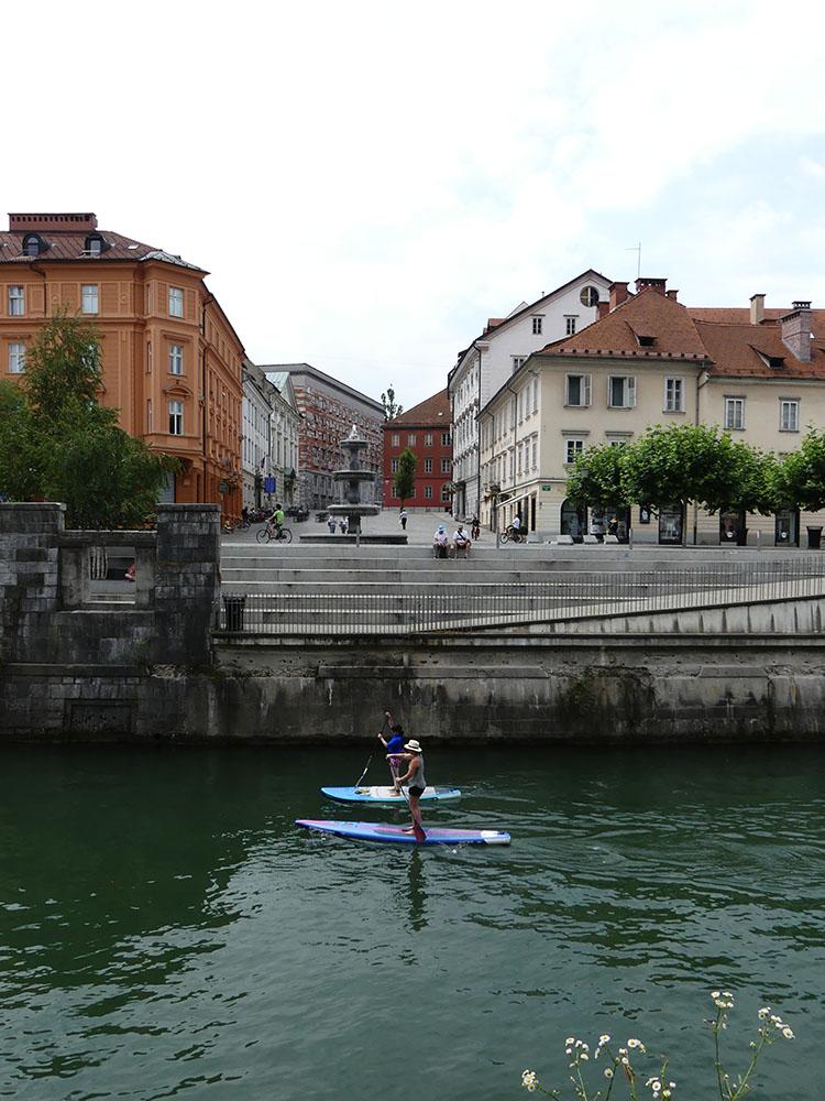 Rive droite Ljubljana