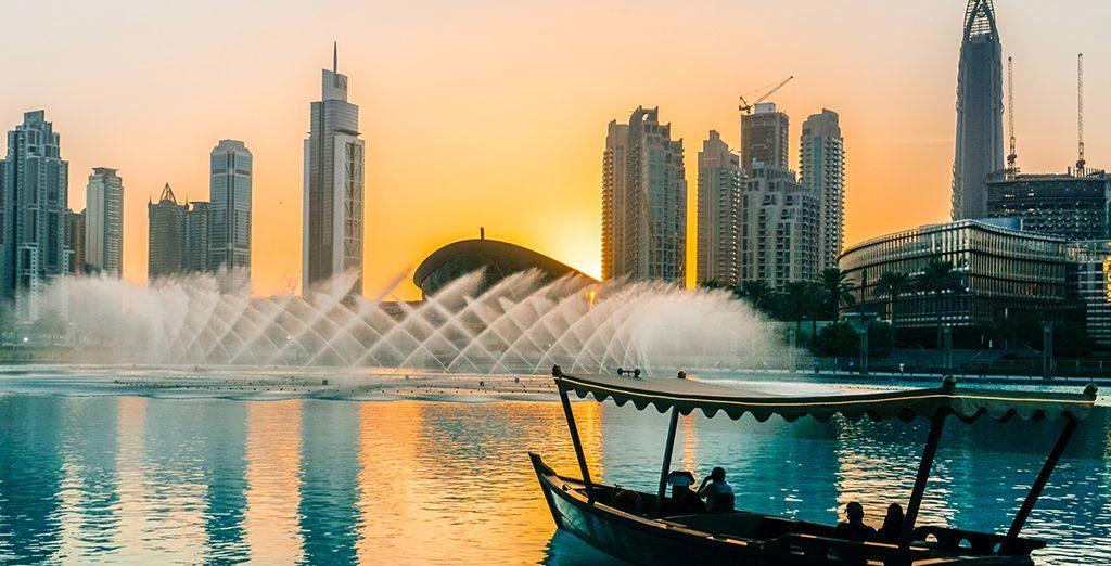 abra sur la Dubai Creek