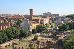 La visite du forum romain est incluse dans le Roma Pass