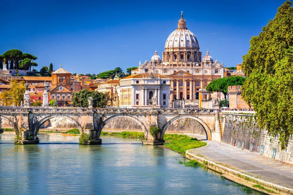 Que voir à Rome ? - Vue depuis un pont