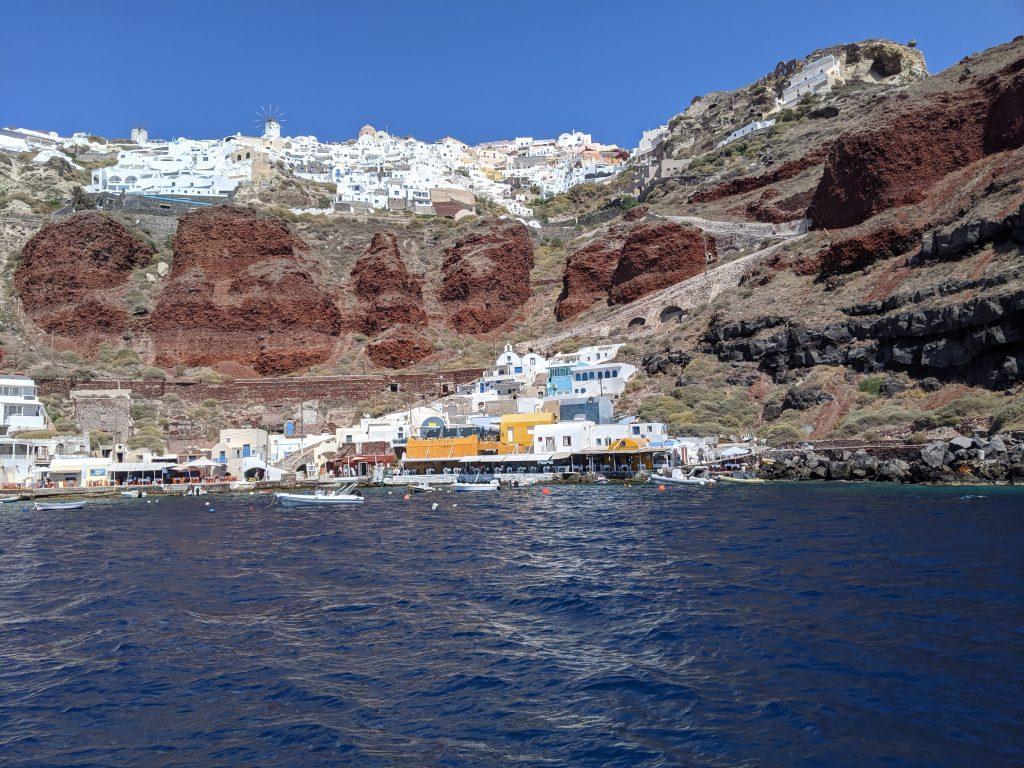 Petit port de pêche d'Amoudi