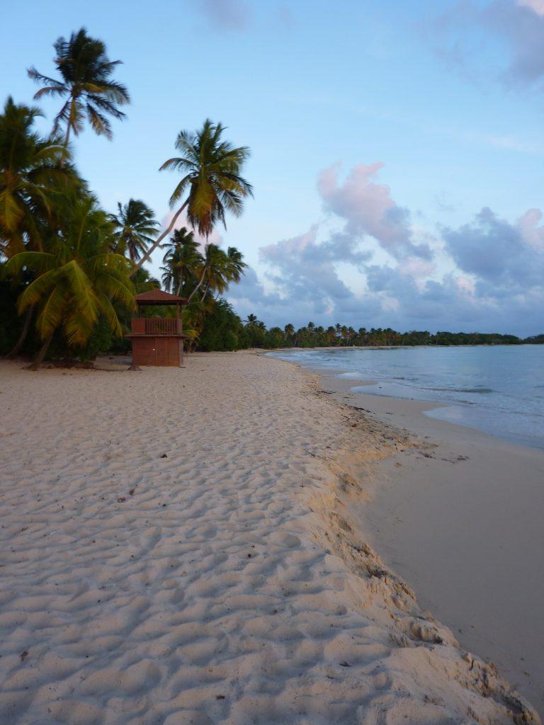 coucher de soleil, plage des salines