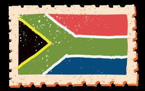 Drapeau de la République Sud Africaine