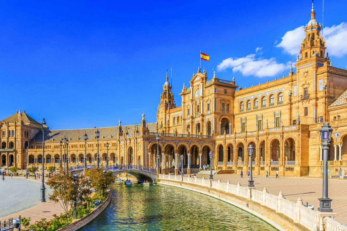 Que faire à Séville ? Voir la Plaza Espana