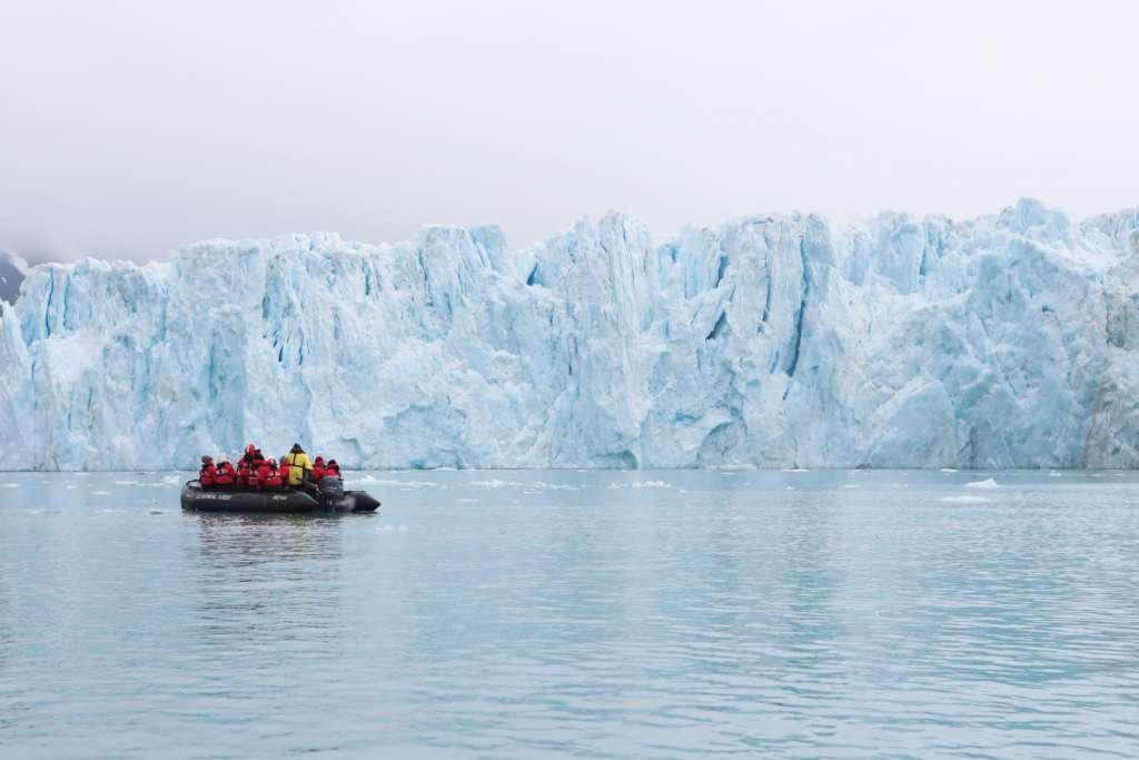 Glacier islandais, croisière en Islande