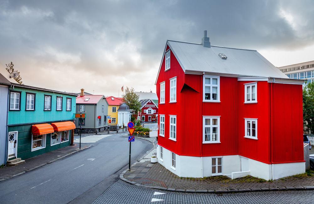Rue de Reykjavik, la capitale islandaise