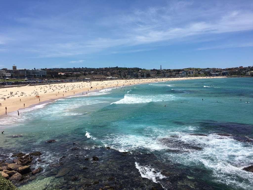 Que faire à Sydney ? Aller bronzer sur la plage de Bondi