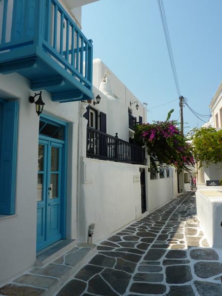 Perdez vous dans les ruelles typiques de Mykonos