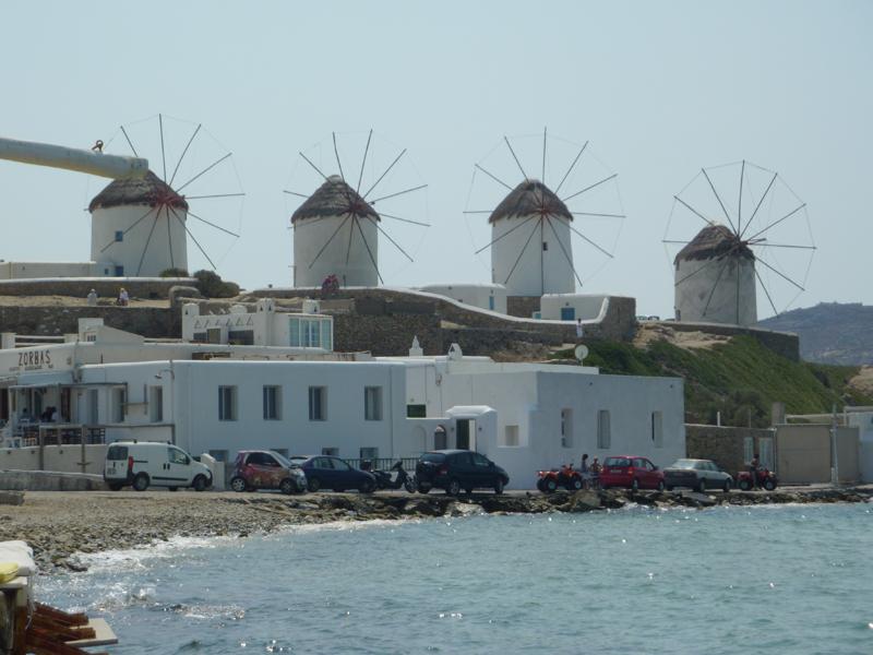 Que faire à Mykonos ? S'extasier devant les moulins
