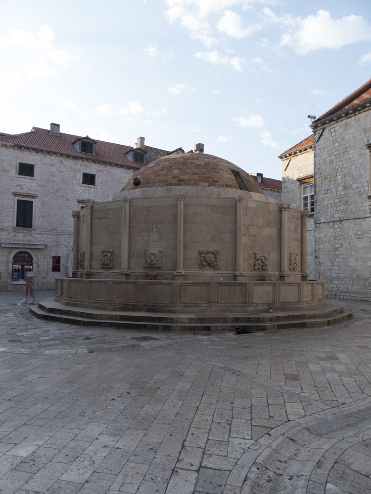 Fontaine d'Onofrio, Dubrovnik