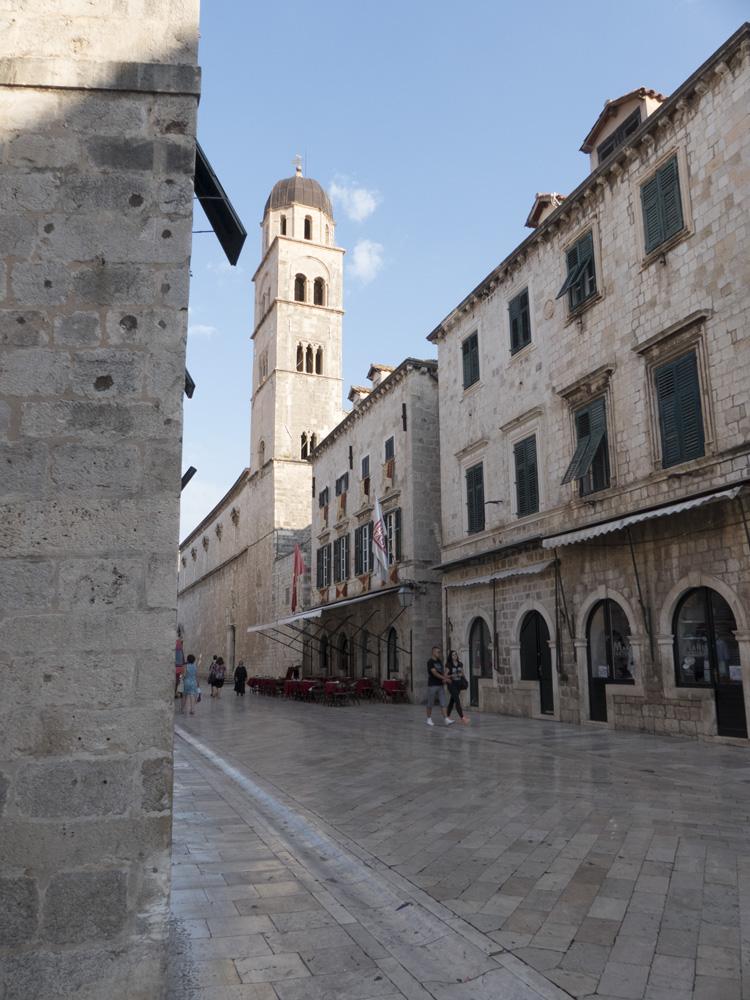 Stradun au petit matin, Dubrovnik