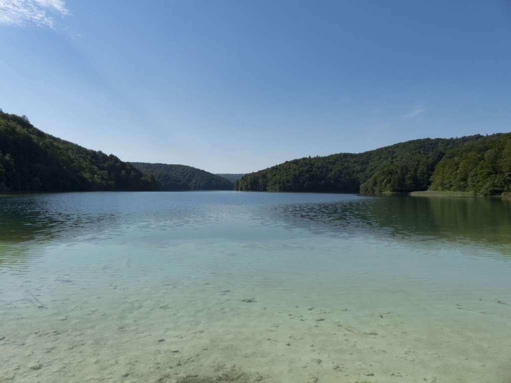 Lac dans le Parc National de Plitvice