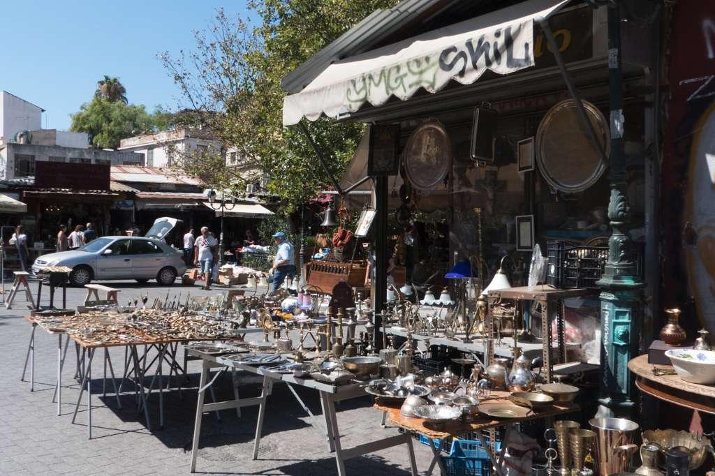 Que faire à Athènes ? Visiter Monastiraki et son marché aux puces