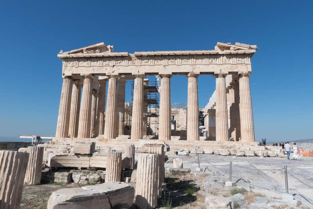 Visiter l'Acropole d'Athènes