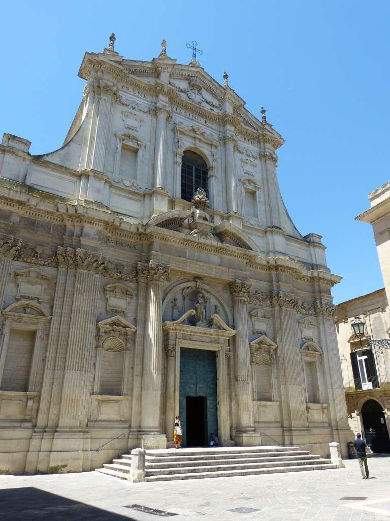 les églises de Lecce