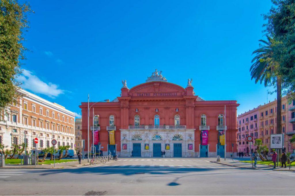 Théâtre Petruzzelli à Bari