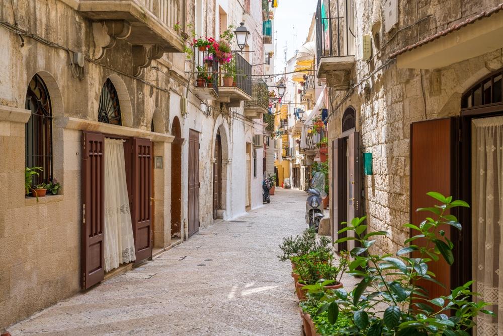 Ruelle de Bari vecchia