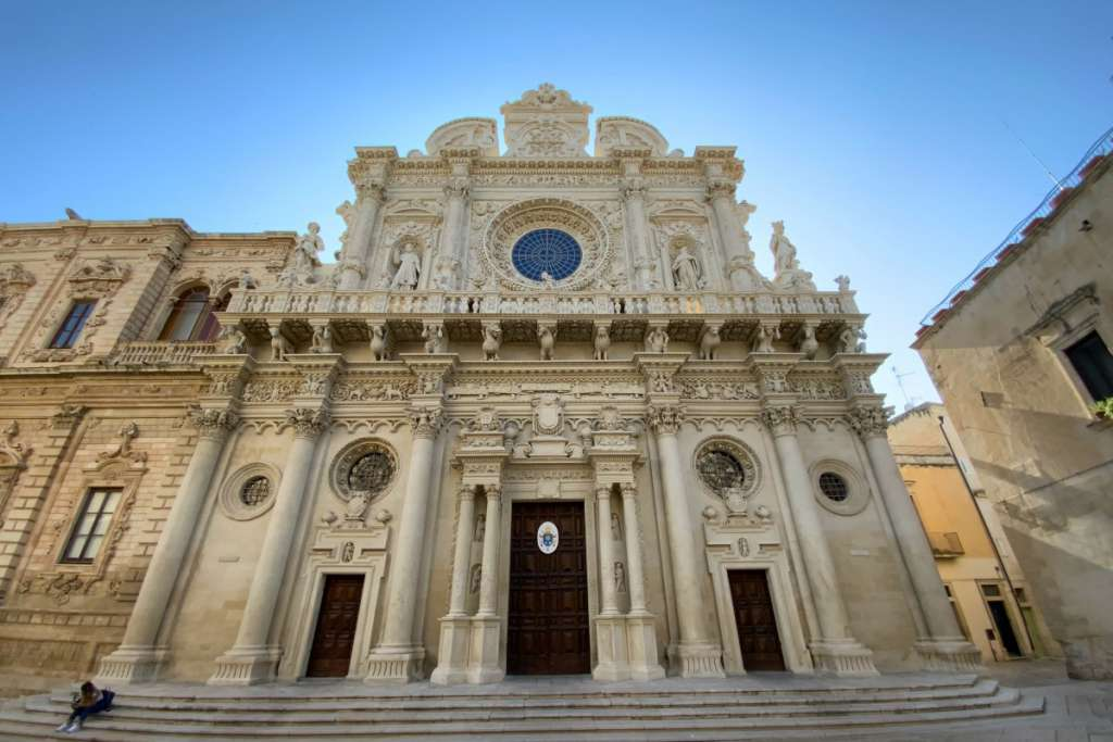 Que faire à Lecce ? La basilique de Santa Croce