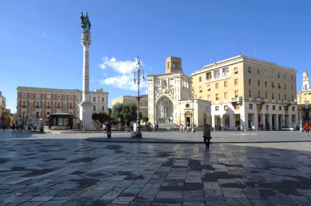 Piazza Sant'Oronzo à Lecce