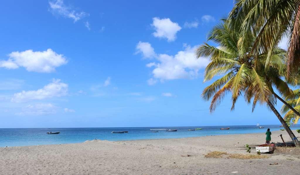 Plage du Carbet en Martinique