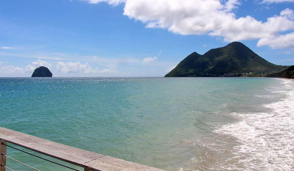 Plus belle plage de Martinique, la plage du Diamant