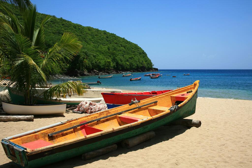 Anse Dufour en Martinique, un coin de paradis