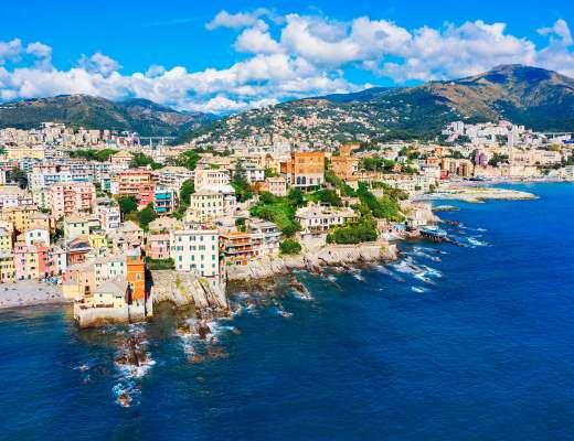 Que faire à Gênes ? Visiter le quartier de Bocadasse