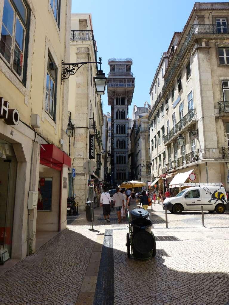 Que faire à Lisbonne ? Prendre l'Elevador de Santa Justa
