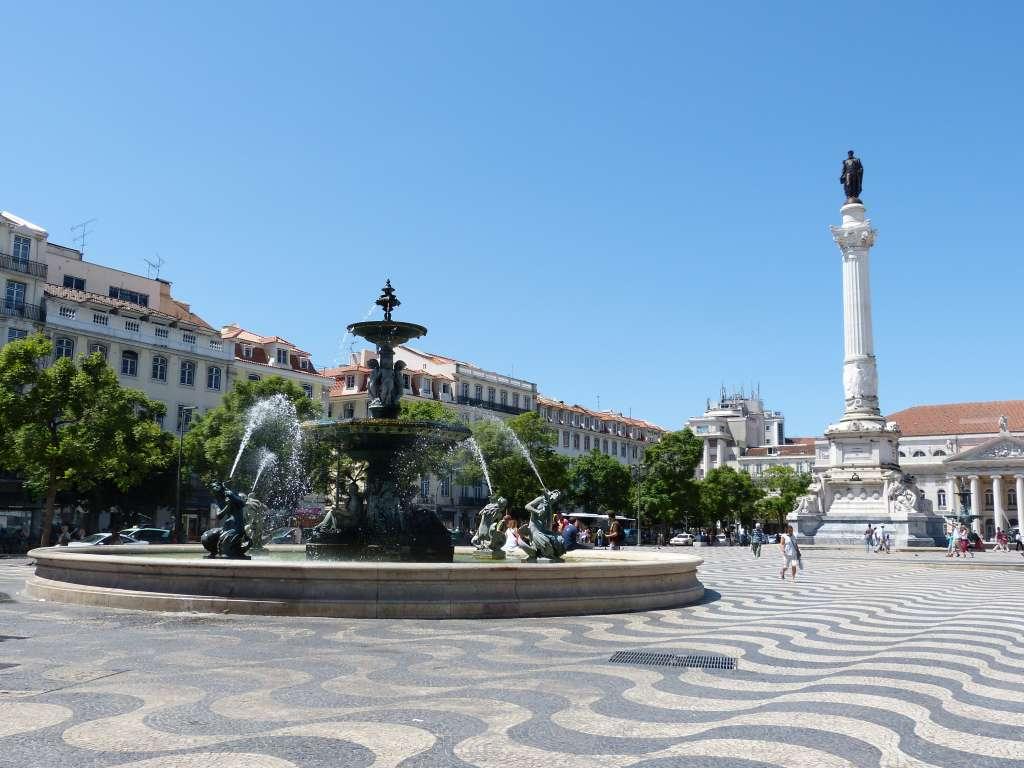 Que faire à Lisbonne ? Voir la Praca do Rossio