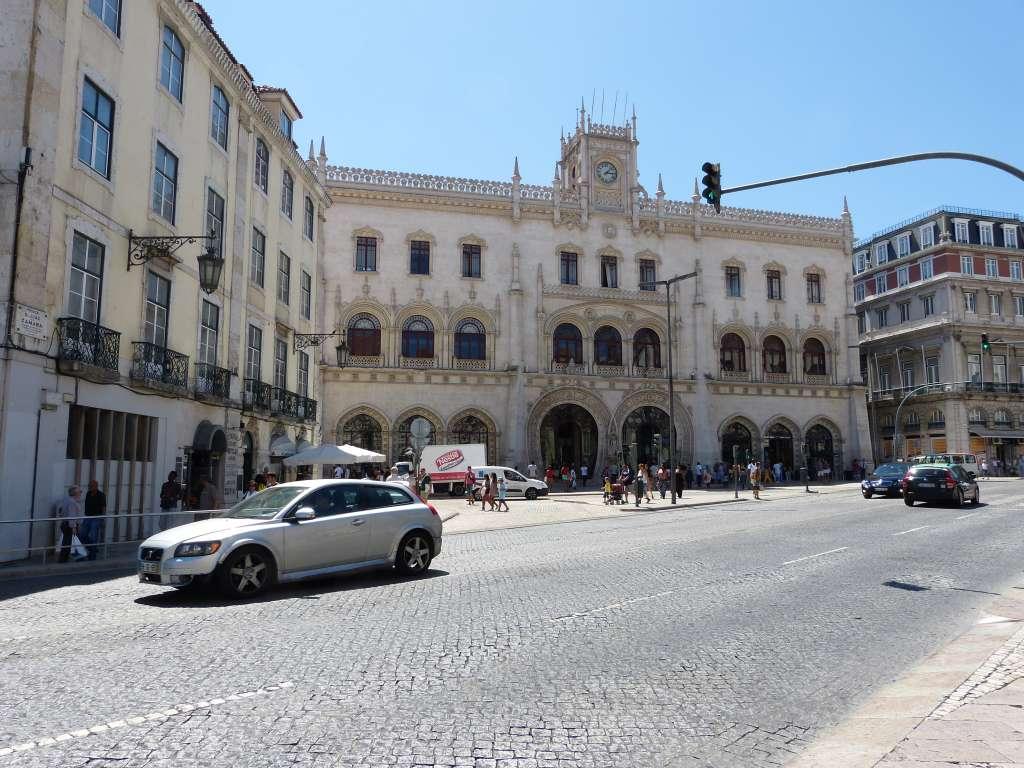 Gare de Rossio à Lisbonne