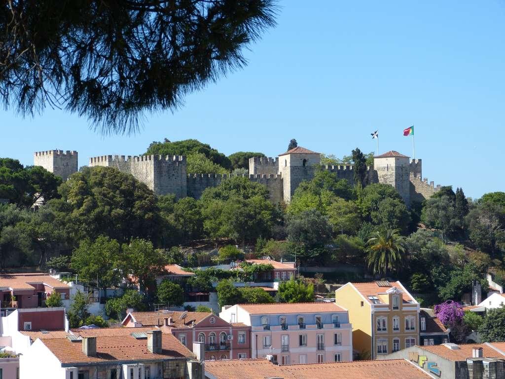 Château São Jorge ou château Saint Georges, Lisbonne