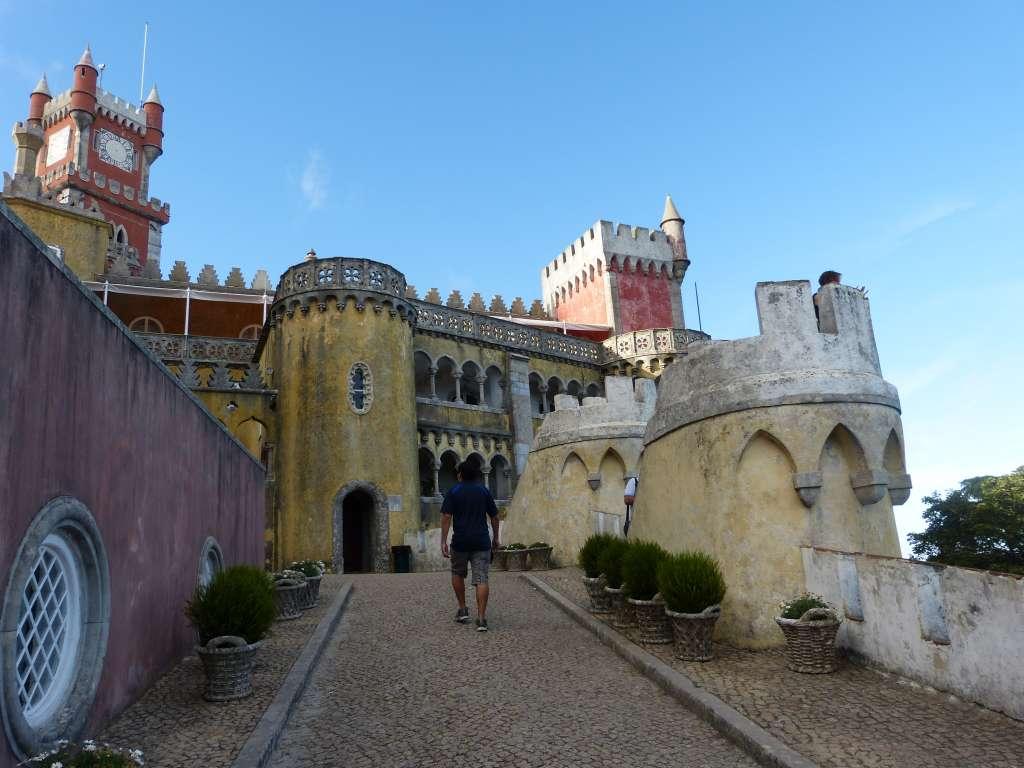 Sintra dans les environs de Lisbonne