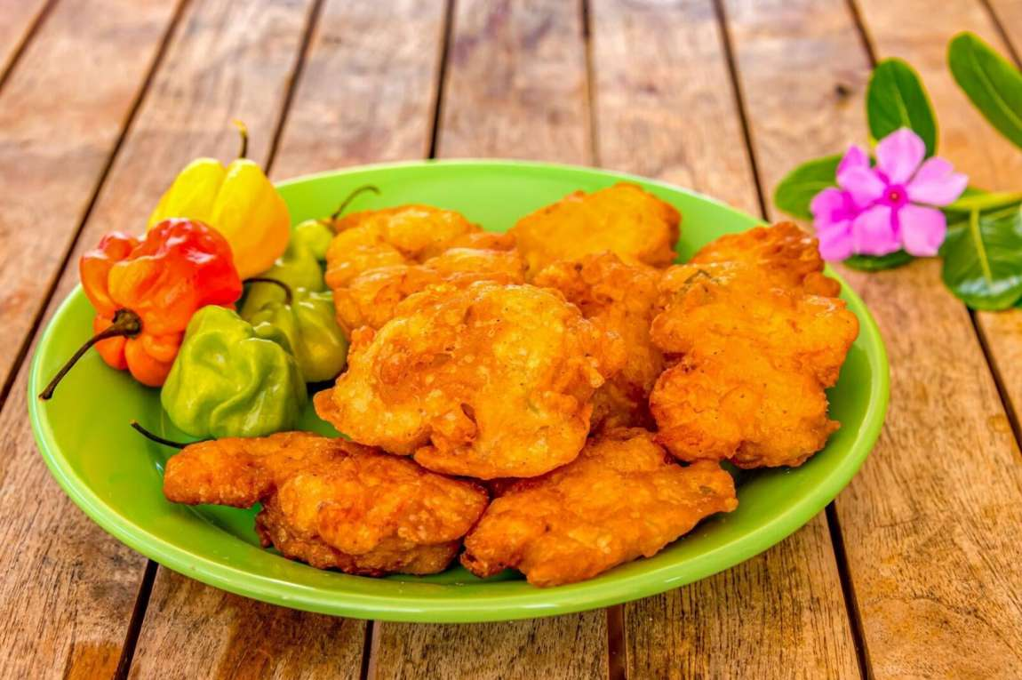 cuisine creole, accras de morue