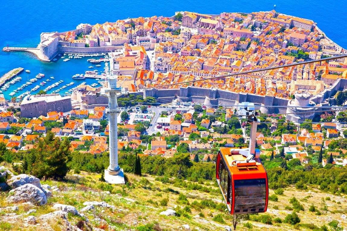 Visiter Dubrovnik sans voiture : Prenez un peu de hauteur avec le funiculaire