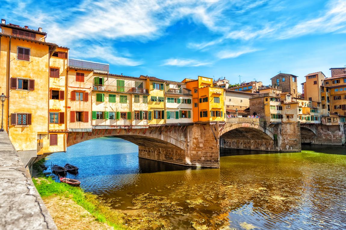 Traversez le ponte vecchion pour visiter Florence sans voiture