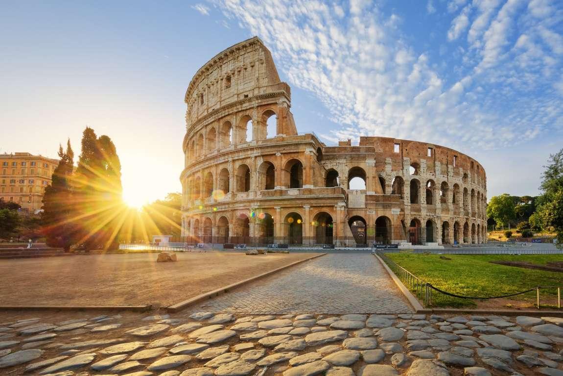 Visiter Rome sans voiture : le Colisée