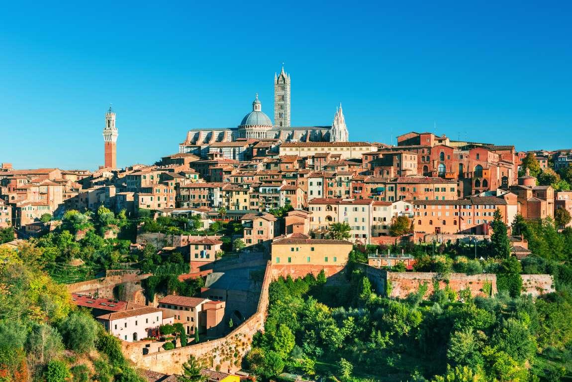 Panorama sur la ville de Sienne